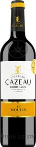 Château Cazeau Le Moulin Bordeaux Aop 2019 - Rotwein - Chateau Cazeau, Frankreich, trocken, 0,75l