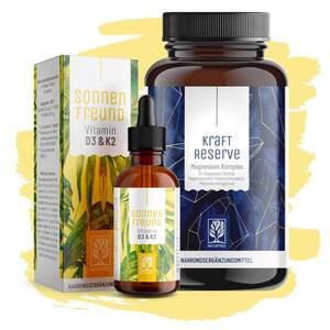 Basispaket - Vitamin D3 K2 & Magnesium