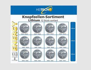 Knopfzellen Lithium 3 Größen