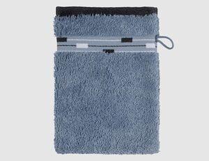 Waschhandschuh Magic graublau
