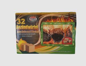 Kohlenanzünder 32er Pack