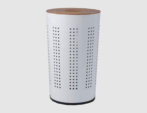 Wäschetonne mit Bambusdeckel