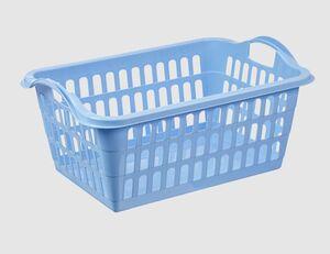 Wäschekorb 45L blau
