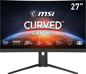 """MSI Optix G27CQ4P Curved-Gaming-Monitor (69 cm/27 """", 2560 x 1440 Pixel, QHD, 1 ms Reaktionszeit, 165 Hz, höhenverstellbar)"""