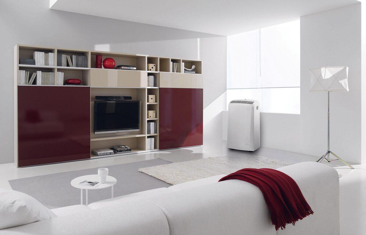 Bild 4 von De'Longhi Klimagerät PAC N82 ECO, Mobiles Klimagerät mit Entfeuchtungs-Funktion