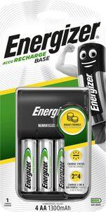 Energizer »Base Ladegerät inkl. 4x AA 1300 mAh« Batterie, (1,2 V)