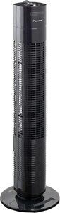 bestron Turmventilator mit Schwenkfunktion, Höhe: 75 cm, 50 W, Schwarz