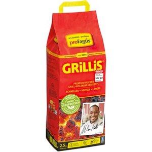 Grillis Buchen Grill-Holzkohlebriketts 2,5 kg