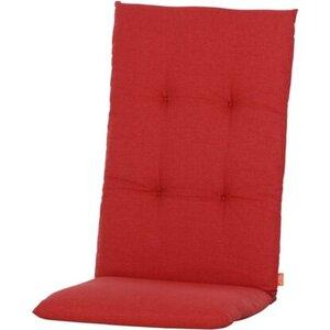 Siena Garden Auflage Hochl. Mirach Uni Rot ca. 120x48x8 cm