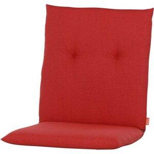 Siena Garden Auflage Niedrigl. Mirach Uni Rot ca. 100x48x8 cm