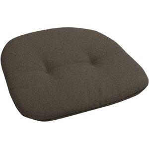 Sitzkissen 45 cm x 45 cm x 5 cm Grau