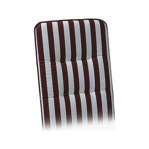 Liegen-Auflage Basic-Line 190 x 60 x 6 cm Rot-Weiß D.0271