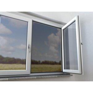 Fiberglasnetz Fenster 120 cm x 100 cm Anthrazit