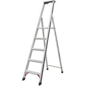 Hymer Stufensteh-Leiter 5 Stufen Arbeitshöhe 2,62 m