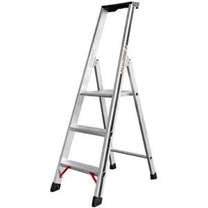 Hymer Stufensteh-Leiter 3 Stufen Arbeitshöhe 2,15 m