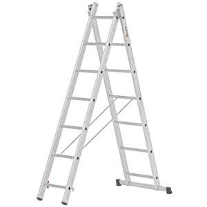 Alpe Mehrzweck-Leiter 2 x 7 Sprossen Arbeitshöhe 4,26 m