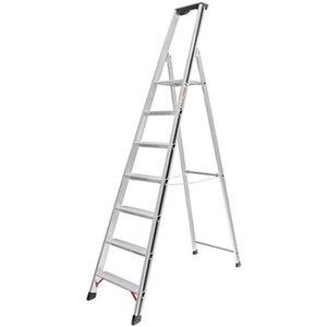 Hymer Stufensteh-Leiter 7 Stufen Arbeitshöhe 3,08 m