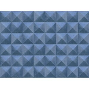 A.S. Création Vliestapete Authentic Walls 2 Grafik 3D Blau
