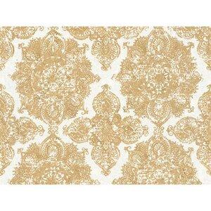 A.S. Création Vliestapete Trendwall Ornament Gold-Weiß