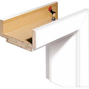 Zarge CPL Weiß Rundkante 73,5 cm x 198,5 cm x 14 cm Anschlag L