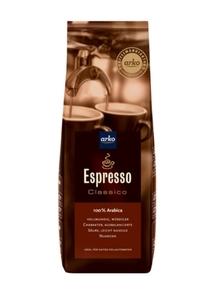 Kaffee ESPRESSO Classico von arko, 500 g ganze Bohnen