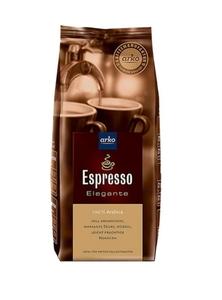 Kaffee ESPRESSO Elegante von arko, 500g Bohnen