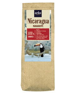 Kaffe URSPRUNGSKAFFEE Nicaragua Maragogype von arko, 250g Bohnen