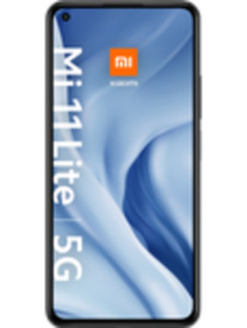 Xiaomi Mi 11 Lite 5G 128GB Truffle Black mit green LTE 20 GB