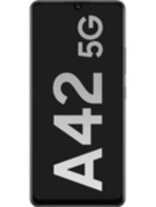 Samsung Galaxy A42 5G 128GB Prism Dot White mit green LTE 10 GB