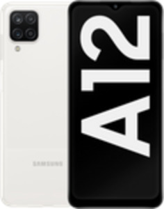 Samsung Galaxy A12 64GB White mit green LTE 20 GB