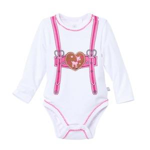 Baby-Mädchen-Body in Trachten-Optik