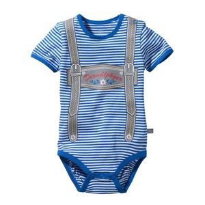 Baby-Jungen-Body in Trachten-Optik