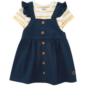 Baby Kleid und T-Shirt im Set