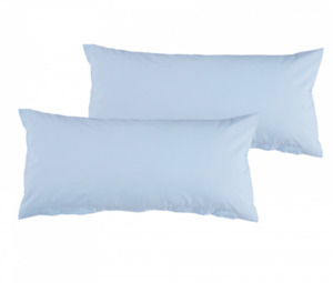 Home Ideas Living Renforcé Kissenbezüge 40x80, blau