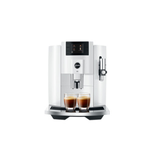 JURA E8 Piano White (EB) Kaffeevollautomat