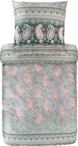 Bassetti Feinsatin Bettwäsche Anacapri Marken-Reißverschluss Ornamente#Paisley französische Größe 200x200 cm (80x80 cm)