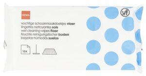 HEMA 16er-Pack Feuchte Bodenreinigungstücher, 29 X 22 Cm