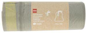 HEMA 25er-Pack Haushaltsmüllsäcke Mit Zugband - 30 Liter - Recycelter Kunststoff