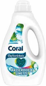 Coral Waschmittel oder Weichspüler