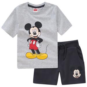Micky Maus T-Shirt und Joggingshorts im Set