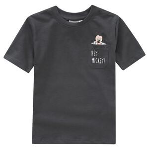 Micky Maus T-Shirt mit Brusttasche
