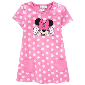 Minnie Maus Kleid mit Punkte-Allover