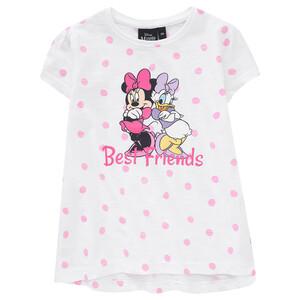 Minnie Maus T-Shirt mit Flammgarn