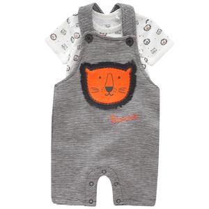 Newborn Strampler und Body mit Löwen-Motiv