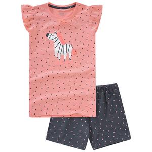 Mädchen Shorty mit Zebra-Motiv