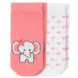 2 Paar Newborn Socken im Set