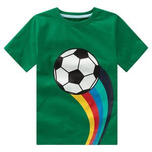 Jungen T-Shirt mit buntem Motiv