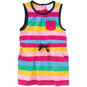 Baby Kleid im bunten Ringel-Look