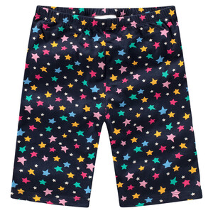 Mädchen Radler mit bunten Sternchen