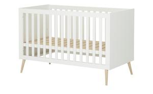 Kombi-Kinderbett - weiß - Baby > Babymöbel > Babybetten - Möbel Kraft